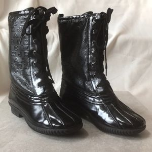 MARC BY MARC JACOBS DUCK BOOTS RAIN SNOW 38 /8